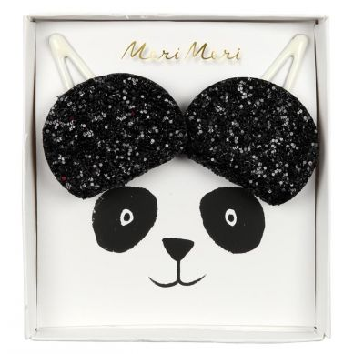 Meri Meri - Zestaw Spinek do Włosów Panda
