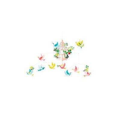 Djeco - Ruchoma Dekoracja Ptaszki