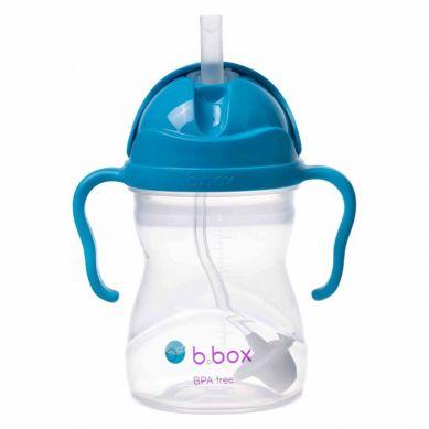 B. Box - Innowacyjny Bidon ze Słomką Kobaltowy