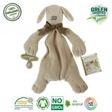 Maud N Lil - Organiczny Mięciutki Pocieszyciel Comforter Paws the Puppy