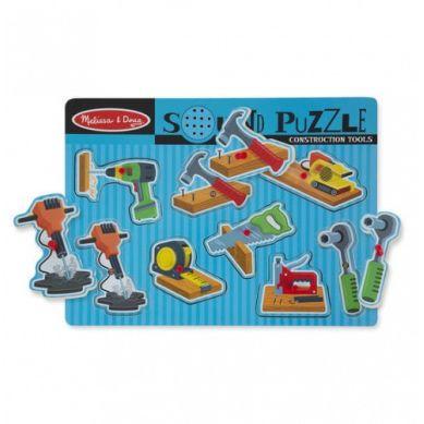 Melissa & Doug - Puzzle Narzędzia z Dźwiękiem 2+