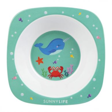 Sunnylife - Miseczka z Melaminy Narwhal