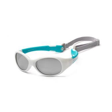 Koolsun - Okularki dla Dzieci Flex White Aqua 3-6 lat