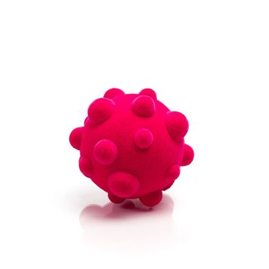 Rubbabu - Piłka Wirus Sensoryczna Różowa Mała