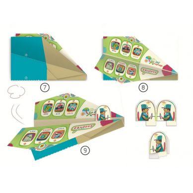 Djeco - Origami Samoloty