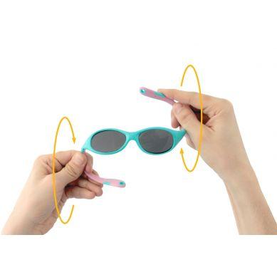 Real Kids - Okularki dla Dzieci  Explorer Polarized Aqua and Pink 4+