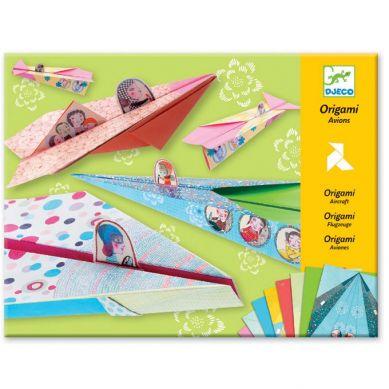 Djeco - Origami Tęczowe Samoloty