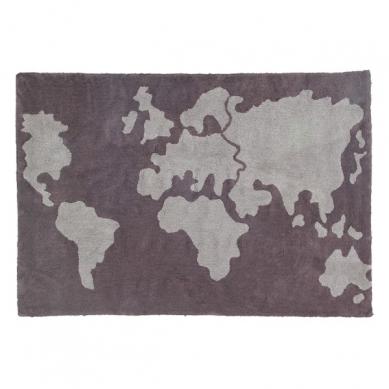 Lorena Canals - Dywan do Prania w Pralce World Map