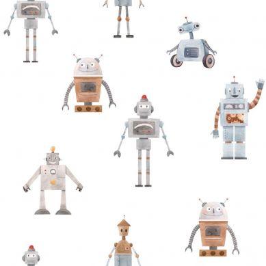 Dekornik - Tapeta Robots