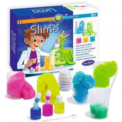 SentoSphere - Fabryka masy żelowej Slime zestaw naukowy dla dzieci