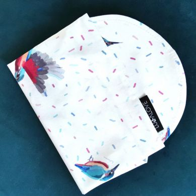 Lullalove - Chustka na Głowę Zimorodek