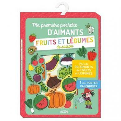 Auzou - Magnesy Warzywa i Owoce 3+