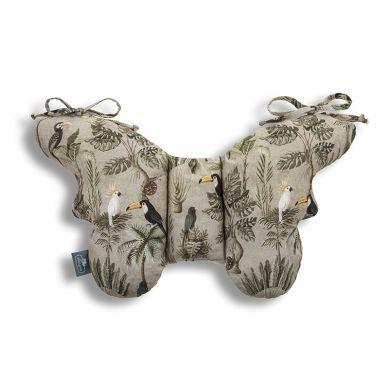 Sleepee - Poduszka Antywstrząsowa Motylek Jungle Khaki