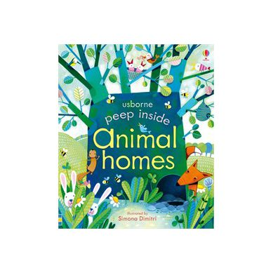 Wydawnictwo Usborne Publishing - Peep Inside Animals Homes