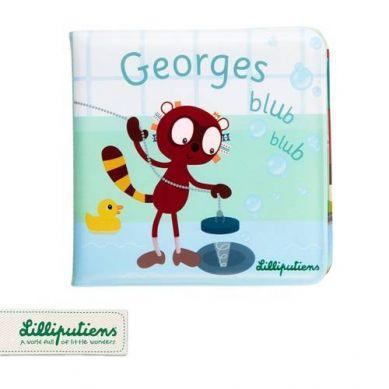 Lilliputiens - Książeczka do Kąpieli Lemur George 1+