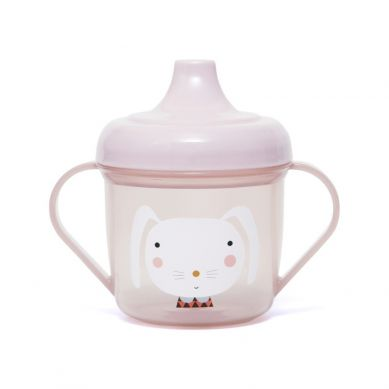 Petit Monkey - Kubeczek Treningowy Rabbit Pink