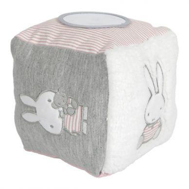 Tiamo - Kostka Sensoryczna Miffy Pink Babyrib