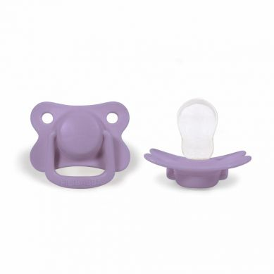 Filibabba - Smoczek 6m+ Fresh Violet 2szt.