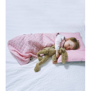 Muzpony - Śpiworek Niemowlęcy Flamingo Wiosenno-Letni 80cm