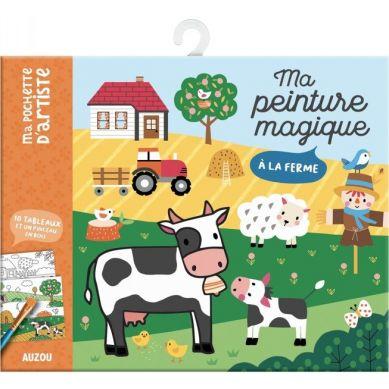 Auzou - Kolorowanka Wodna Zwierzątka na Farmie 5+