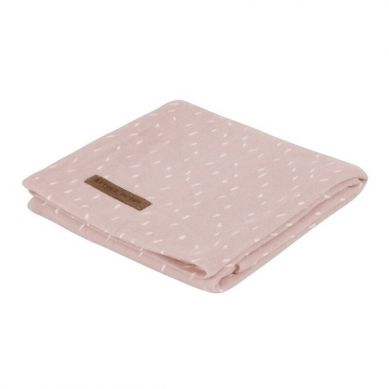Little Dutch - Otulacz 120 x 120cm Pink Sprinkles
