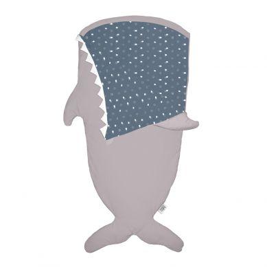 Baby Bites - Śpiworek Letni Shark Stone/Blue 2-6 lat