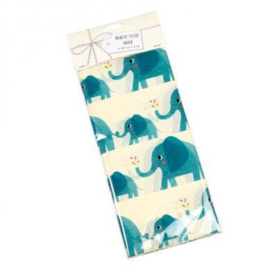 Rex - Zestaw 10 Bibuł Ozdobnych Elvis the Elephant