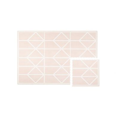 Toddlekind - Mata do Zabawy Piankowa Podłogowa Prettier Playmat Nordic Vintage Nude Pink