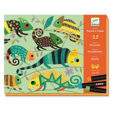 Djeco - Zestaw Artystyczny Kolorowa Dźungla 6+