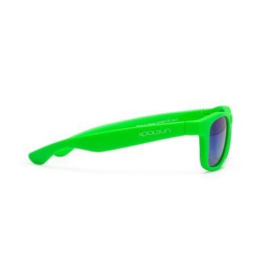 Koolsun - Okularki dla Dzieci Wave Neon Green 3-10 lat