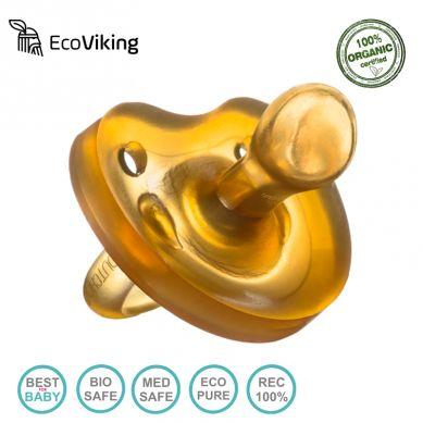 Eco Viking -  Smoczek Anatomiczny Kauczuk naturalny Wiek 12m+