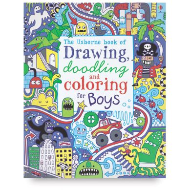 Wydawnictwo Usborne Publishing - Drawing, Doodling and Colouring Drawing, Doodling and ColouringPirates, Dinosaurs, Machins and Other Things