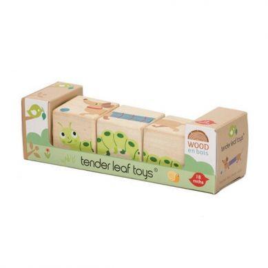 Tender Leaf Toys - Drewniana Układanka Twist Zwierzątka 18m+