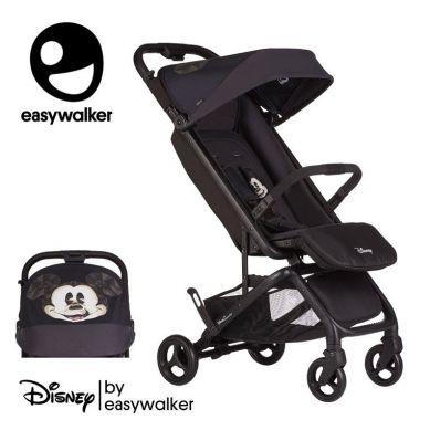 Easywalker - DISNEY by Easywalker Buggy GO Kompaktowy wózek spacerowy ze zintegrowaną torbą transportową Mickey Diamond