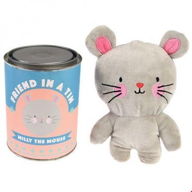 Rex - Przytulanka Milly The Mouse w Metalowej Puszce