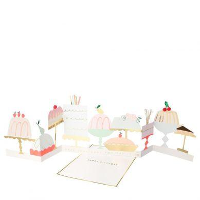 Meri Meri - Kartka Okolicznościowa 3D Cukiernia