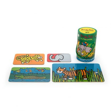 Jellycat - Puzzle Jungle Tail 2+