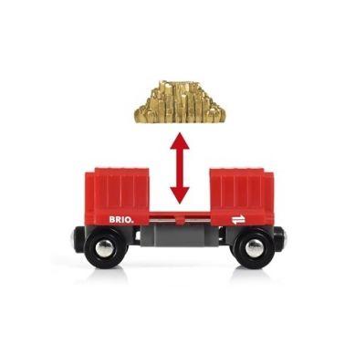 BRIO - World Wagon Towarowy ze Złotem