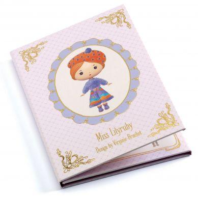 Djeco - Zestaw z Naklejkami Miss Lilyruby
