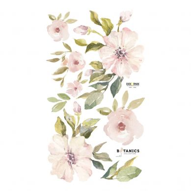Dekornik - Naklejka Ścienna Botanics: Łososiowe Magnolie S