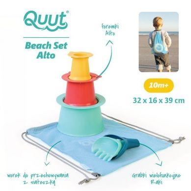 Quut - Set Plażowy Alto + Raki w Worku