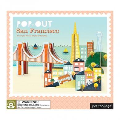 Petit Collage - Puzzle Przestrzenne San Francisco