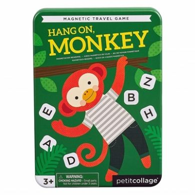 Petit Collage - Gra Magnetyczna Małpka 3+
