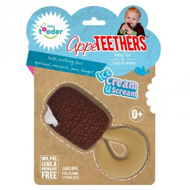 Little Toader - AppeTEETHERS Ice Cream U Scream Gryzak Lód