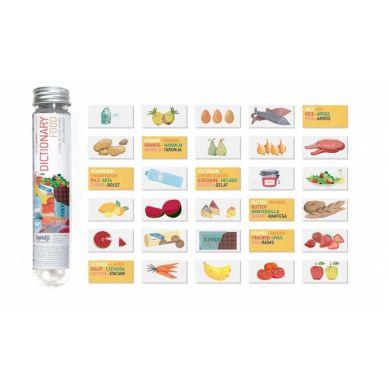 Londji - Karty do Nauki Języków Micro-Dictionary Food