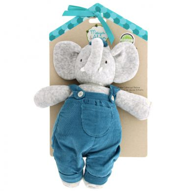 Meiya & Alvin - Musical Lulluby Doll with Soft Head Alvin Elephant
