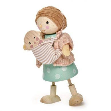 Tender Leaf Toys - Laleczka Pani Goodwood z Dzieckiem 3+