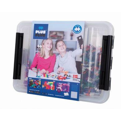 Plus Plus - Puzzle Mini Basic Neon Brokat 2400 szt - Edukacja