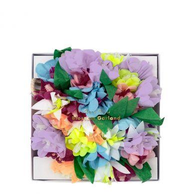 Meri Meri - Girlanda Bukiet Kwiatów Liliowy
