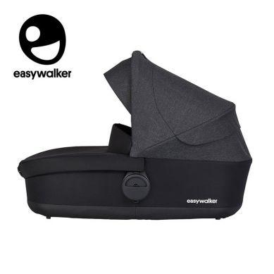 Easywalker - Harvey 2 Gondola do wózka Night Black (zawiera osłonkę przeciwdeszczową)
